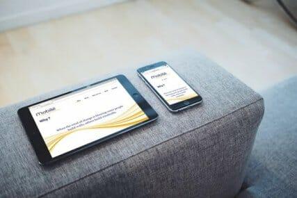 Responsive webdesign Mobile4flow